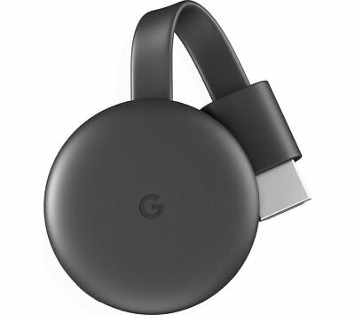 AU27.14 • Buy GOOGLE Chromecast - Third Generation Charcoal - Currys