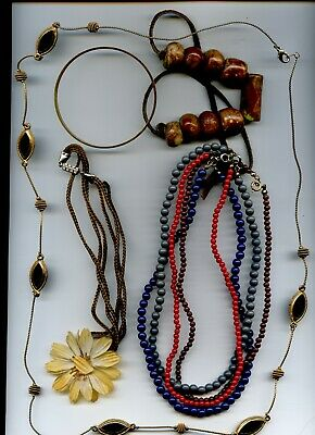 $ CDN3.75 • Buy Jewelry Lot 3 - Misc Chains & Necklaces - Look!