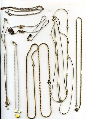 $ CDN5 • Buy Jewelry Lot 1 - Misc Chains & Necklaces - Look!