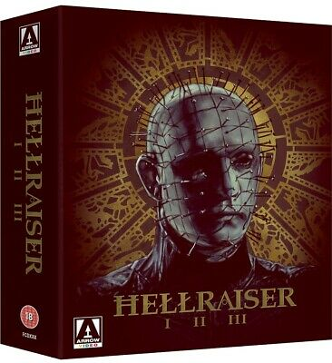 £24.95 • Buy Hellraiser Trilogy Box Set - Blu-Ray - Arrow Video - Collection - NEW & SEALED