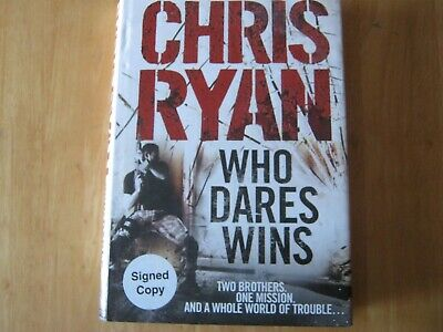 £15 • Buy Who Dares Wins By Chris Ryan (Hardback, 2009) Signed First Edition