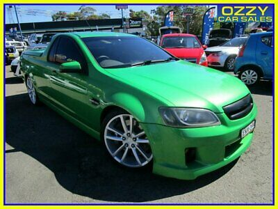 AU25950 • Buy 2009 Holden Commodore VE MY09.5 SS-V Green Manual 6sp M Utility