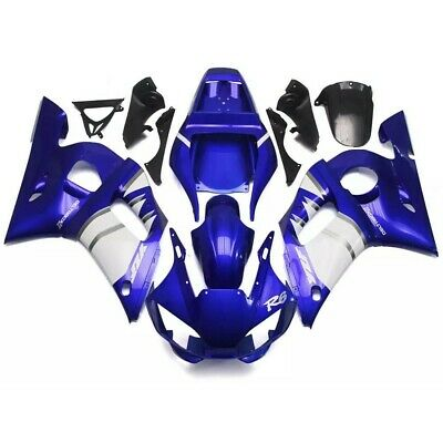 $559.99 • Buy New Injection Blue White ABS Plastic Fairing Fit For Yamaha 1998-2002 YZF R6 O02