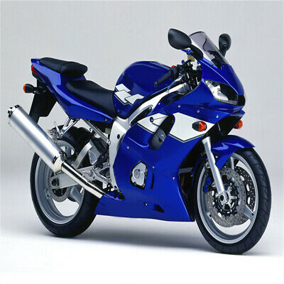 $509.99 • Buy New Fairing Blue White Injection ABS Kit Fit For YAMAHA 1998-2002 YZF R6 O0th