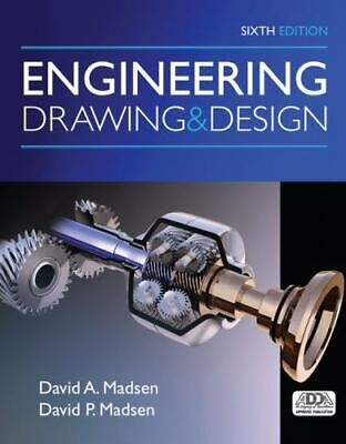 £36.82 • Buy Engineering Drawing And Design