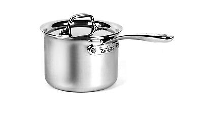 $ CDN125.87 • Buy All-Clad 4200 Stainless Steel Compact Tri-Ply Bonded 2-qt Sauce Pan With Lid