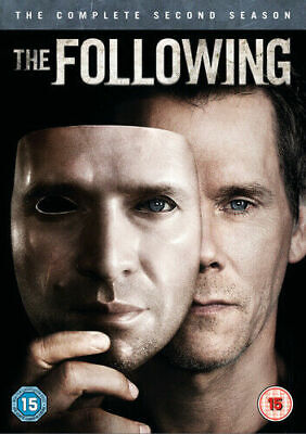 £2.99 • Buy The Following: The Complete Second Season (DVD) (2014) Kevin Bacon