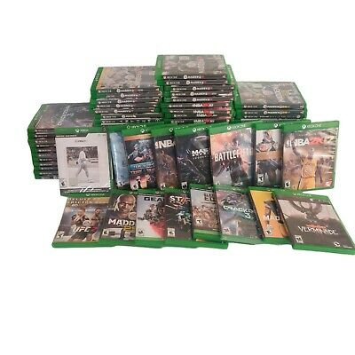$ CDN1.20 • Buy Xbox One Video Games Variety You Choose Cleaned Tested And Works Huge Selection