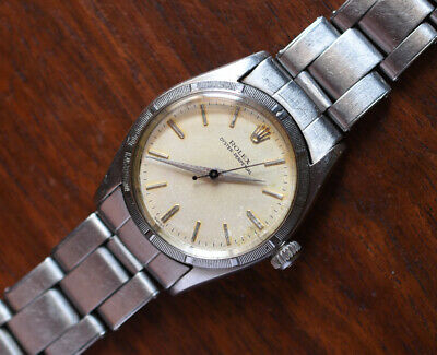 $ CDN2357.93 • Buy Vintage ROLEX Oyster Perpetual 6549 Midsize 30mm Automatic Stainless Watch 1958
