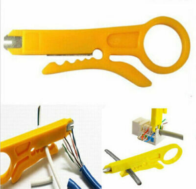 £2.99 • Buy Mini Portable Cable Stripper Crimper Pliers Crimping Tool Stripping Wire Cutter