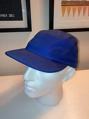 $ CDN43.18 • Buy Supreme Cap (100% Authentic / Royal Blue / Perforated Logo On Side Panels)