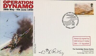 £8.99 • Buy Dunkirk: Operation Dynamo FDC Signed By Warrant Officer William F Catley 77 Sqn
