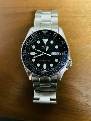 $ CDN631.94 • Buy Seiko Black Boy Modified Divers SKX013 Automatic Mens Watch Authentic Working
