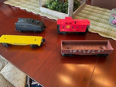 $25 • Buy Lionel 027 Gauge Cannonball Train Cars