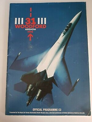 £4.40 • Buy 31 Woodford Air Show Programme 1998