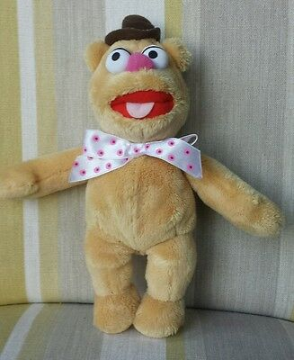 £11.16 • Buy Muppets Fozzie Bear Plush Soft Toy 25cm Fozzy Bear The Muppets Rare P4