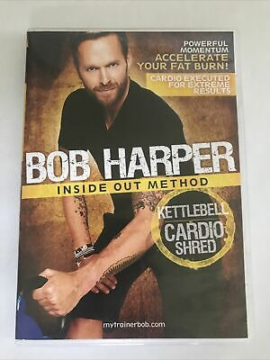 Bob Harper: Inside Out Method - Kettlebell, Cardio Shred DVD Fitness Workout • 7.99£
