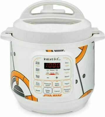 $61.95 • Buy Star Wars BB-8 Instant Pot Limited SPECIAL EDITION 3 Quart Brand New Great Gift