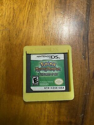 $110 • Buy Pokemon Mystery Dungeon: Explorers Of Sky (Nintendo DS) -- Authentic Game Cart
