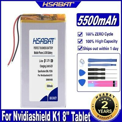 $ CDN35.58 • Buy HSABAT K1 5500mAh Battery For Nvidiashield K1 8 Inch Tablet PC Batteries