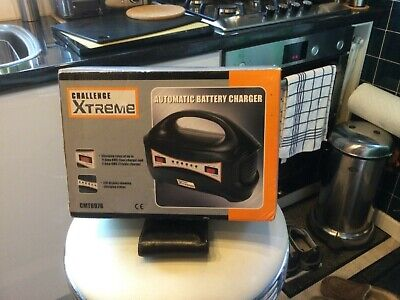£27 • Buy Challenge Extreme Automatic Battery Charger,never Been Used.