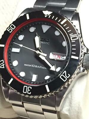 $ CDN556.23 • Buy Seiko Modified Diver SKX031 NH36 Day Date Automatic Mens Watch Auth Works