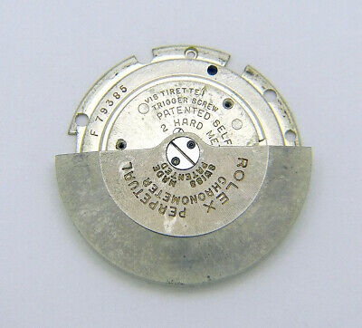 $ CDN249.96 • Buy Vintage Genuine Rolex Automatic Watch Rotor & Plate For Bubbleback Movement
