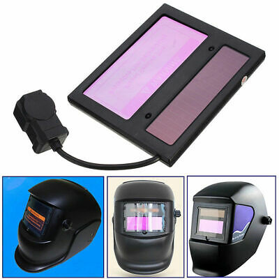 $ CDN20.61 • Buy Batteries Adjustable LCD Automation Solar Auto Darkening Welding Helmet Lens New