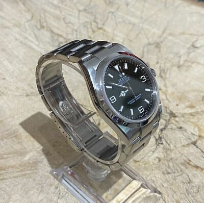 $ CDN17272.24 • Buy Explorer Rolex 114270 Steel Oyster Stainless 36mm Watch 2 YEARS GUARANTEE 2005