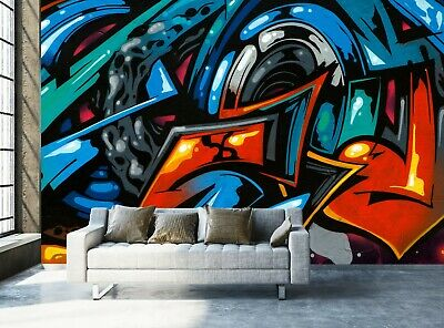 £64.99 • Buy Graffiti Art Wall Mural Photo Wallpaper Wall Decor Giant Paper Poster Picture