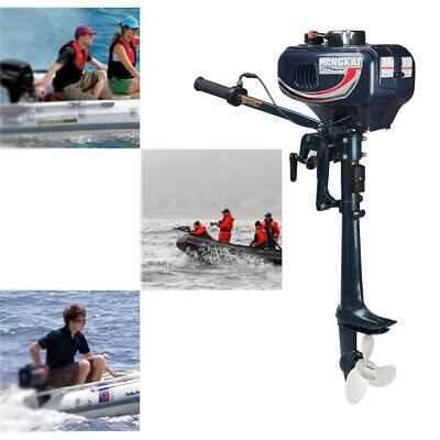 AU327 • Buy 2 Stroke 3.5HP Outboard Motor Fishing Boat Engine & CDI System Water Cooling AU
