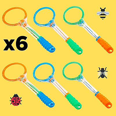 £7.99 • Buy 6 X Bug Viewer Magnifying Insect Catcher Garden Activity Educational Science Toy
