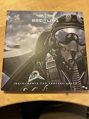£9.99 • Buy Authentic Breitling Instruments For Professionals Watch Chronolog Booklet 2014