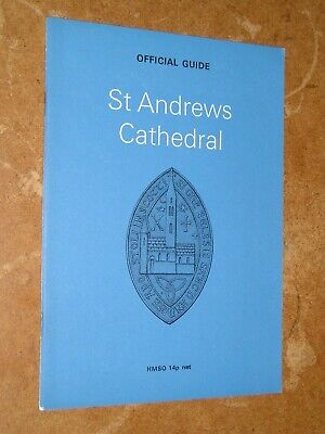 St Andrews Cathedral Official Guide - HMSO Booklet • 5.55£