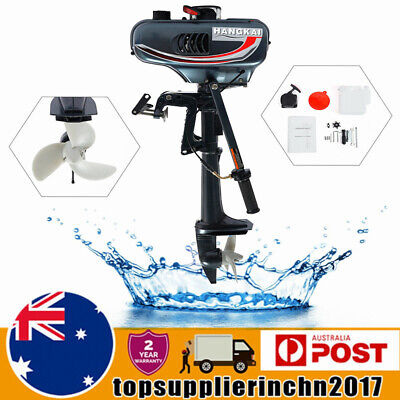 AU327 • Buy 3.5HP 2Stroke Outboard Motor Boat Fishing Petrol Engine CDI Water Cooling System