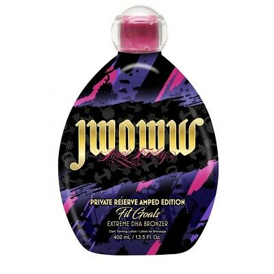 $ CDN65.30 • Buy JWOWW FIT GOALS Private Reserve Amped Edition Tanning Lotion 13.5oz
