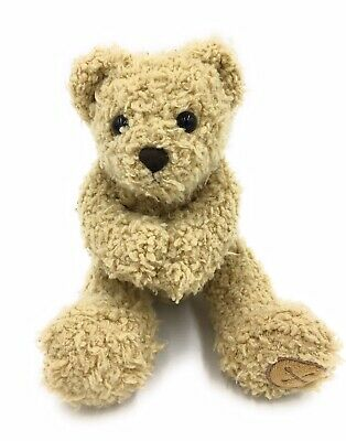 """£12.99 • Buy Mamas And Papas Barnaby Button Bear Comforter Toy 8"""" Teddy With Magnetic Paws"""