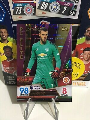 £17.99 • Buy Topps Match Attax Ultimate 2018-19 David De Gea Manchester United Parallel /50