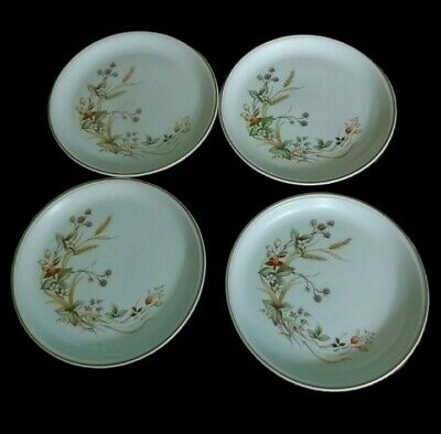 £16 • Buy Marks And Spencer 'Harvest' Collection 10.5 Inch Dinner Plates X 4