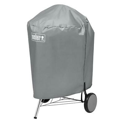 $ CDN26.42 • Buy Weber Charcoal Kettle Grill Protective Cover Breathable Water Resistant 22  Gray