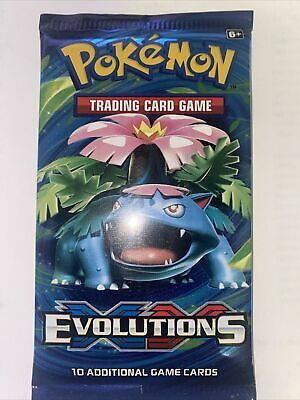 $18 • Buy 1 POKEMON TCG XY EVOLUTIONS FACTORY SEALED BOOSTER PACK , 50 Available