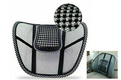 AU13.99 • Buy Lower Back Lumbar Support Office Chair Car Seat Lumber Cushion Backrest Mesh AU