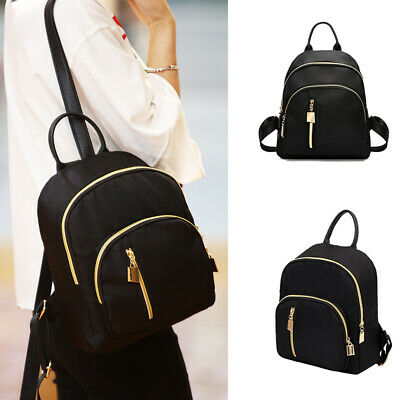 Women Ladies Small Mini Fashion School Backpack Travel Shoulder Bag Rucksack • 5.49£