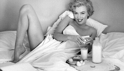 £4.89 • Buy Marilyn Monroe Gym Workout Sport Classic Retro Print Poster Wall Art Picture A4+