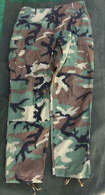 £23.95 • Buy Genuine Issue US Army American Woodland Camouflage BDU Trousers