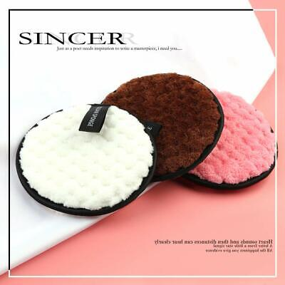 £2.99 • Buy Washable Makeup Remover Pads Reusable Face Cleansing Microfiber Puff (PACK OF 3)