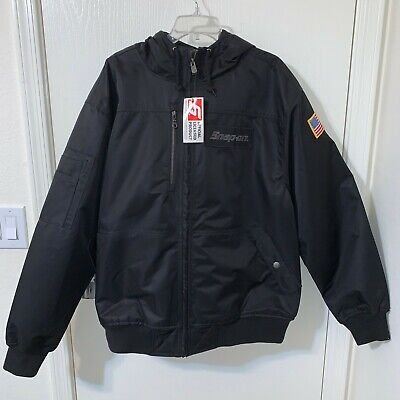 $ CDN193.59 • Buy NEW Snap On Tools 2020 Men's XL Black Winter Coat Hooded Jacket Embroidered