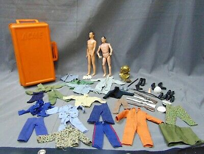 $ CDN242.61 • Buy Lot Of GI JOE Action Figures Clothing Accessories 1964 Jointed Doll Dive Helmet