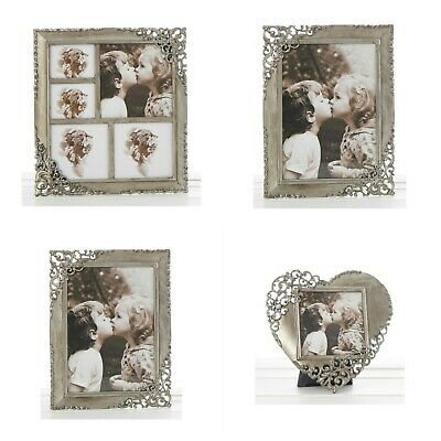 £14.50 • Buy Vintage Lace Ornate Rustic Metal Photo Frames All Ocassions - Various Sizes