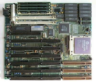 AU167.34 • Buy Motherboard Socket 3 UMC4913 GREEN 486DX&DX4-100 , 3712KB RAM , Tested